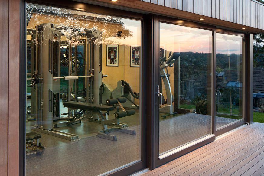 accessory dwelling gym