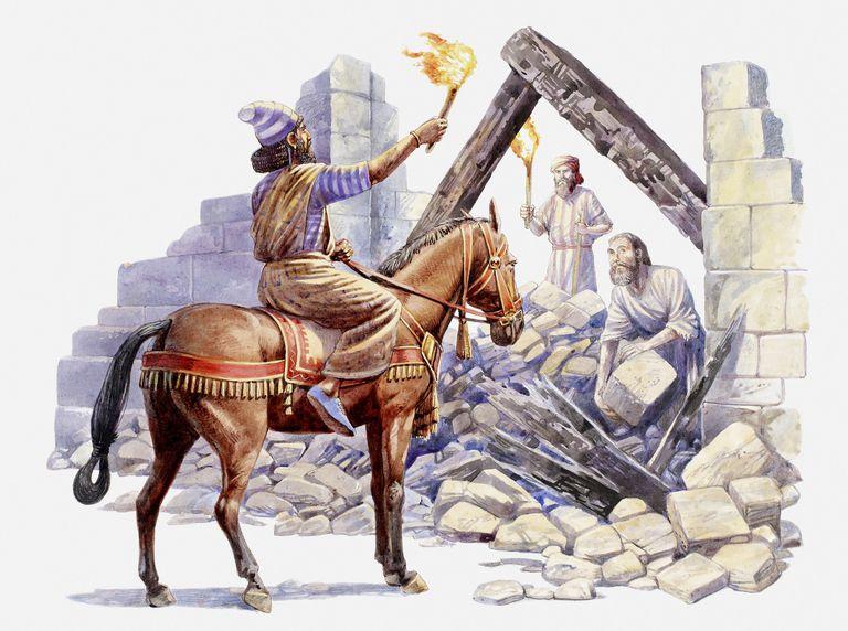 Book of Nehemiah - The Walls of Jerusalem Rebuilt