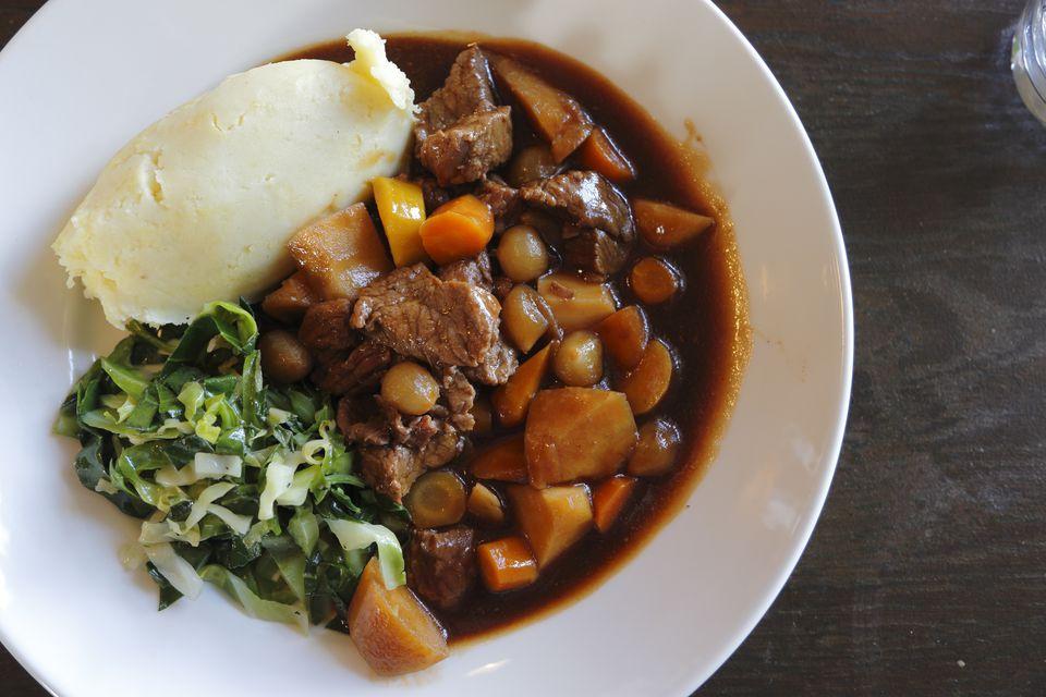 Traditional Irish Beef Stew