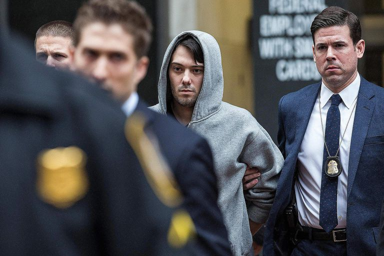 Martin Shkreli's perp walk is a classic example of a degradation ceremony.