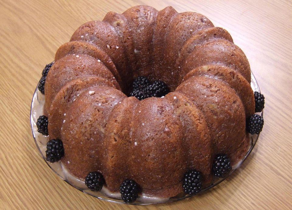 Blackberry Bundt Cake