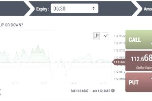 binary options screenshot