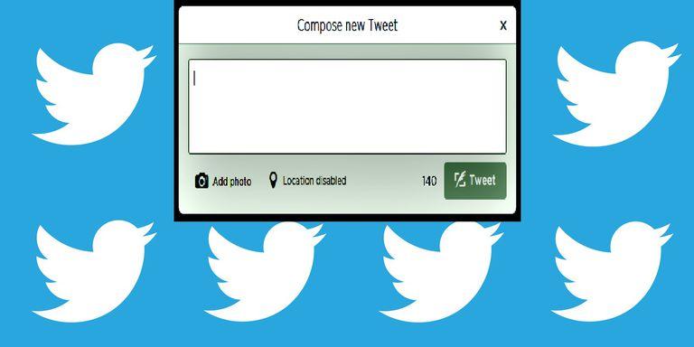 Twitter tweet box, choose a strategy