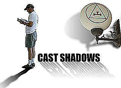 Cast shadows add interest and dimension while anchoring an object to a surface.