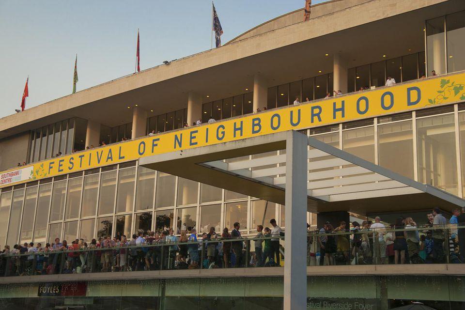 The SouuthBank Centre, Festival of Neighbourhood, London, UK, GB.