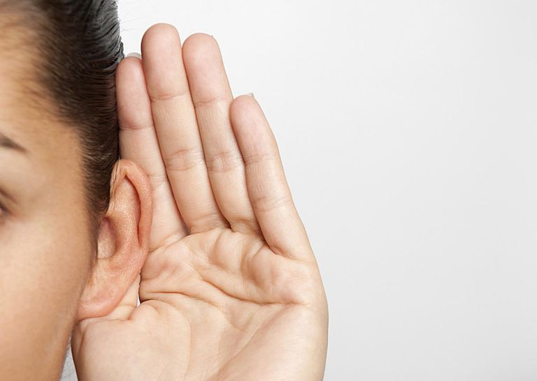 listenting hearing ear message