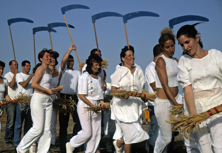 Shavuot (Feast of Weeks) celebration, Israel