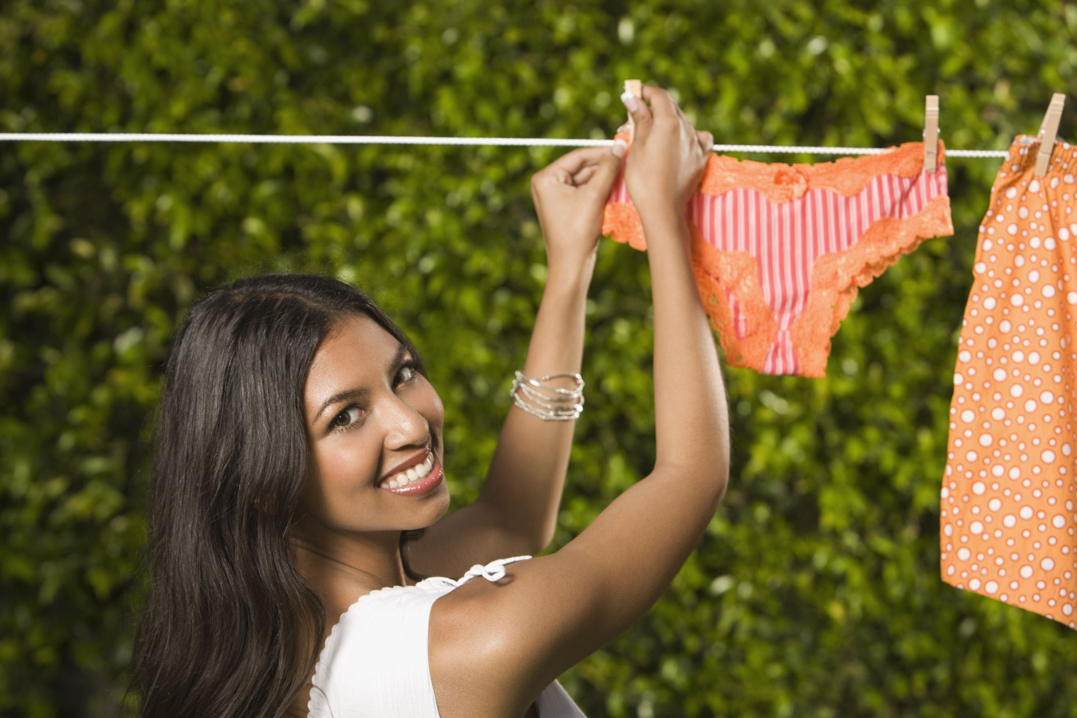 Spring cleaning tips for lingerie lovers for Underwear under wedding dress