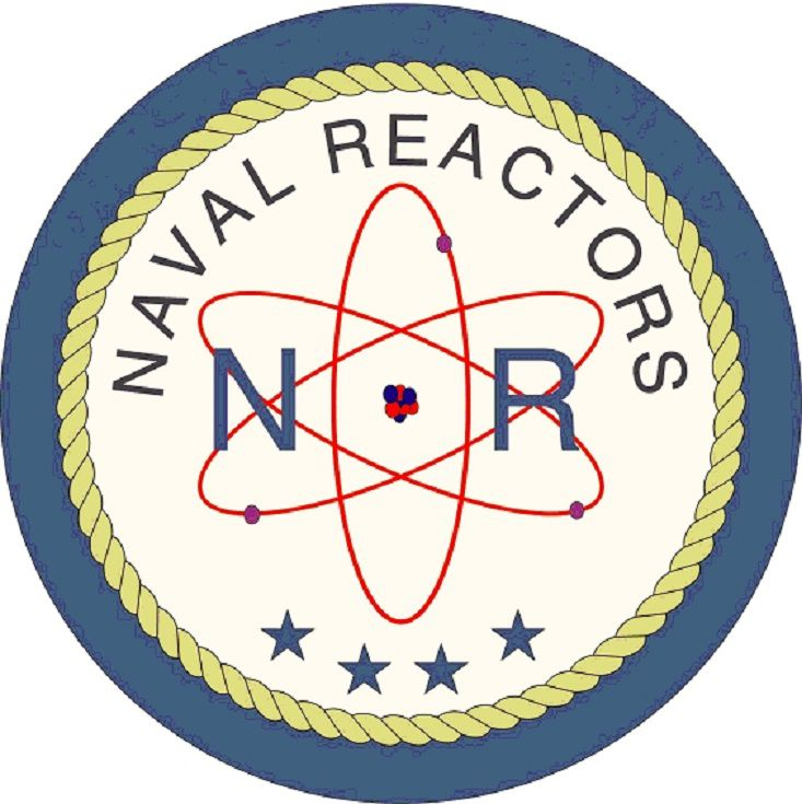 The logo of Naval Reactors,