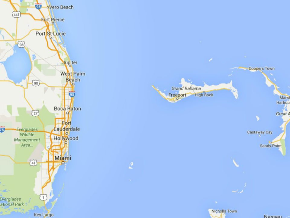 Maps Of Florida Orlando Tampa Miami Keys And More - Vero beach florida map