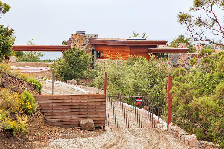 Arch Oboler Complex Frank Lloyd Wright In Malibu Ca