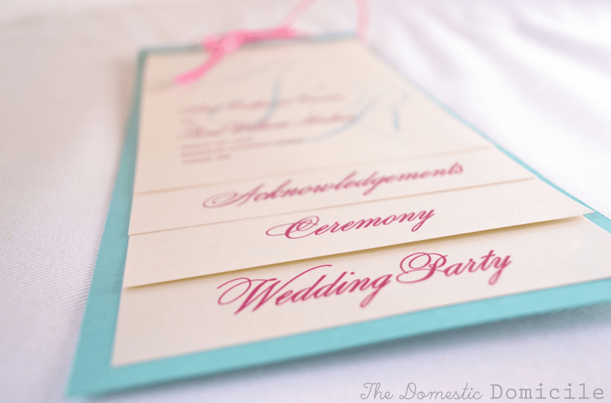 27 free wedding program templates youll love pronofoot35fo Images