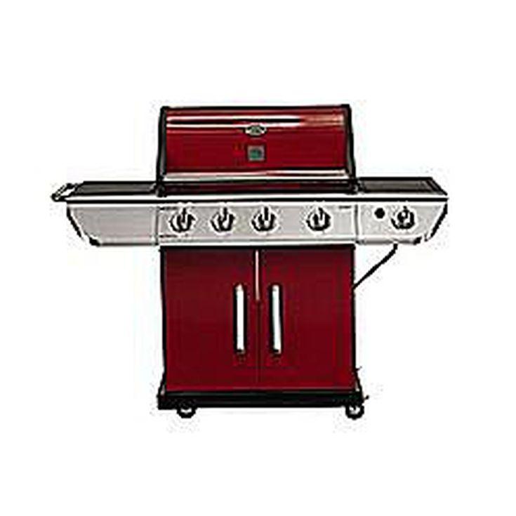 kenmore 6256595. kenmore 4-burner red with sear burner grill 6256595