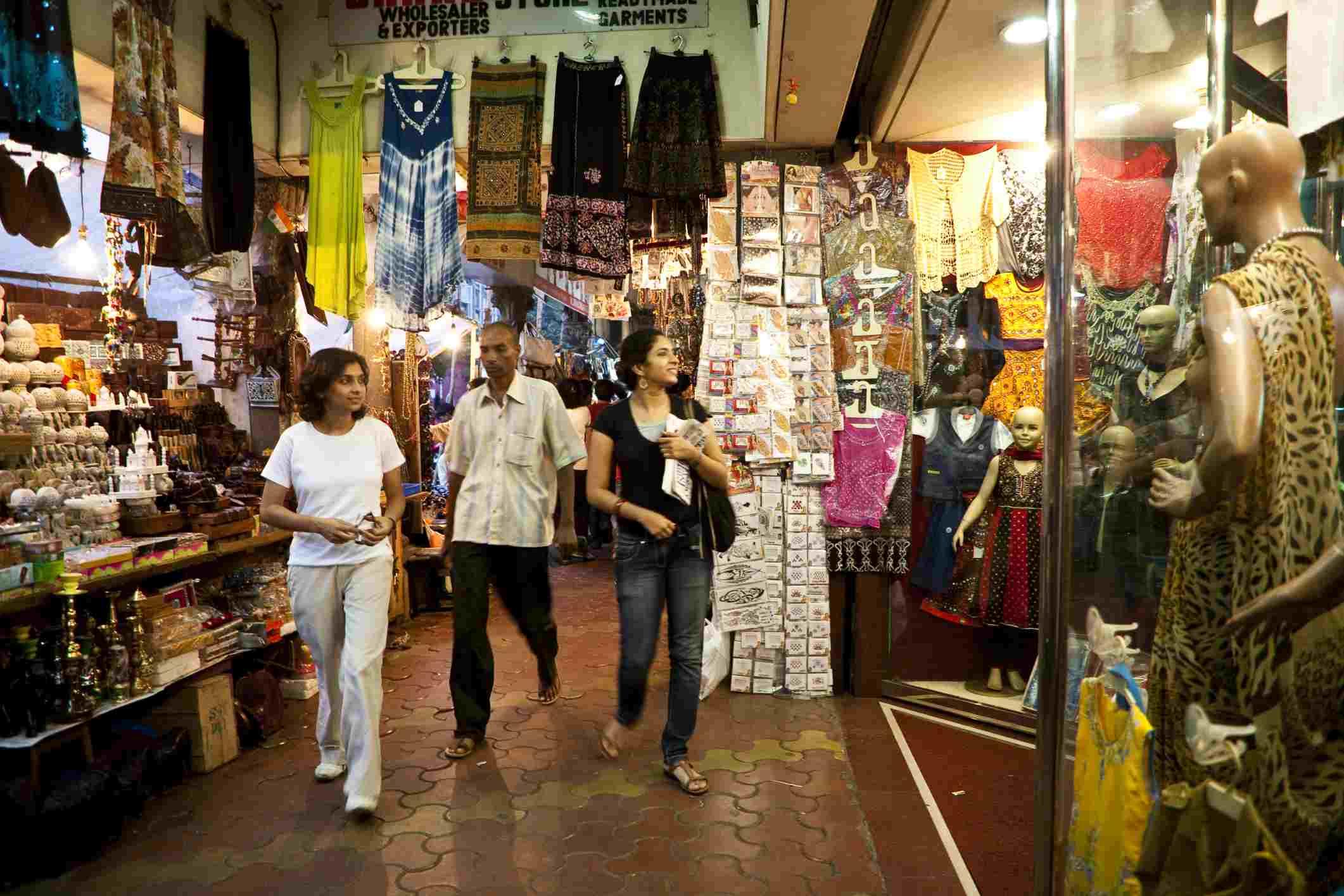 Inside Crawford Market