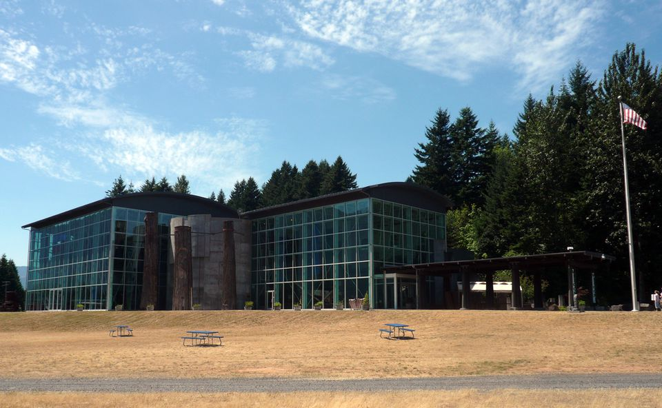 The Columbia Gorge Interpretive Center Museum in Stevenson, WA (Angela M. Brown)
