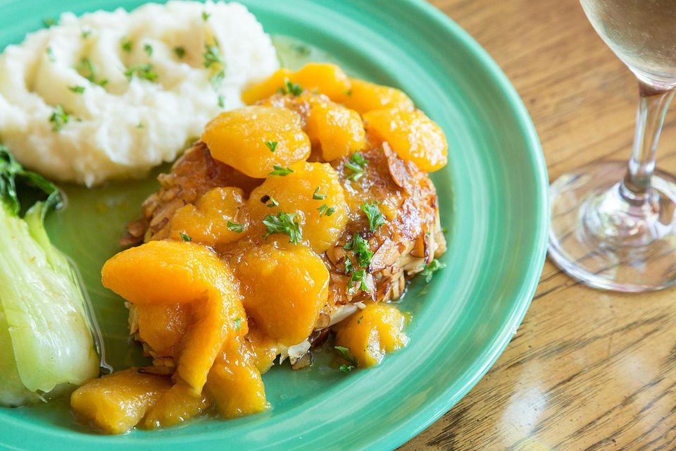 Chicken with Peaches