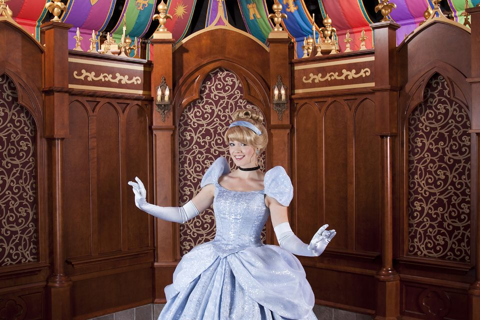 Meeting a Princess at the Disneyland Fantasy Faire