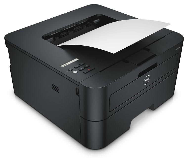 Dell E310dw single-function monochrome laser-class (LED) printer.