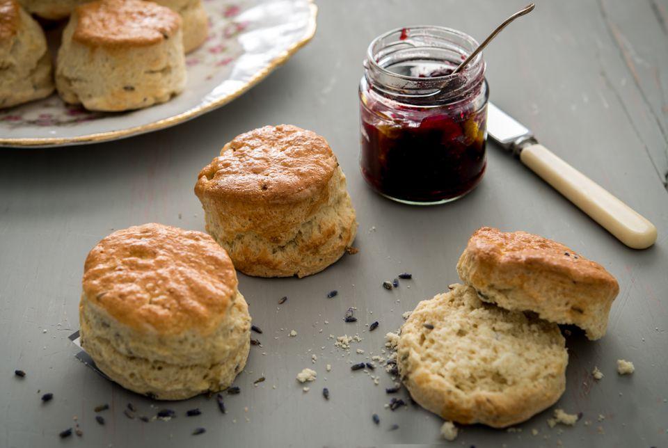 lavender-scones