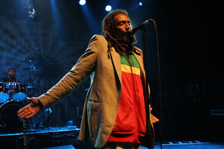 Bad Brains performs on July 21, 2009 in London, England