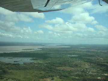 Rio Orinoco from the air