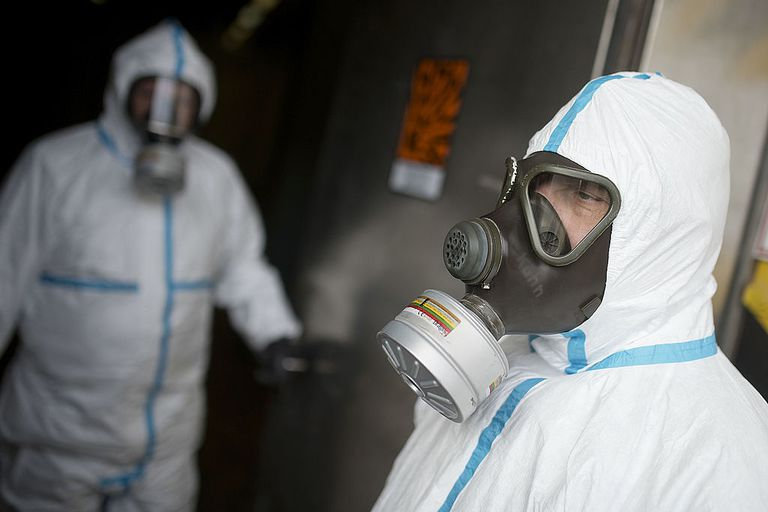 German Company To Destroy Syrian Chemical Weapons