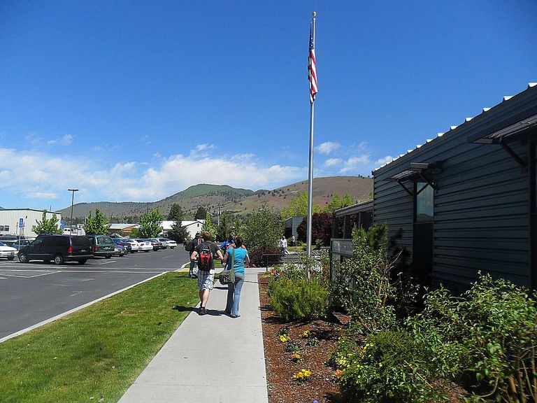 Campus del Community College de Klamath, en Oregón.