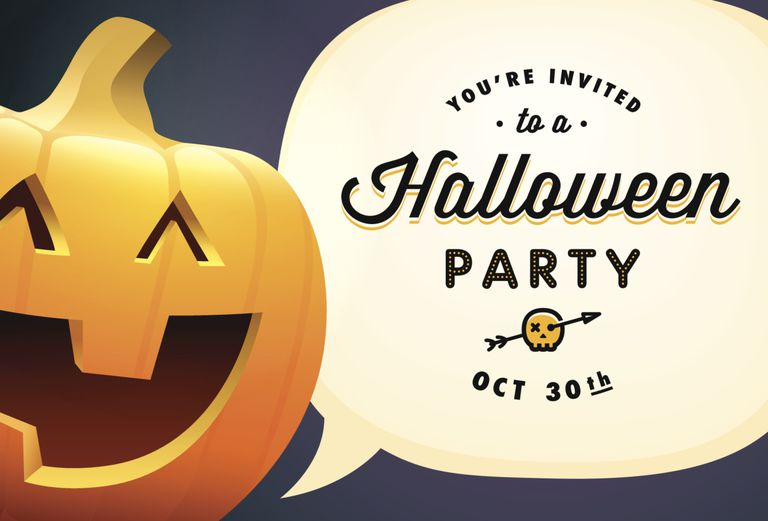 a halloween party invitation - Holloween Party