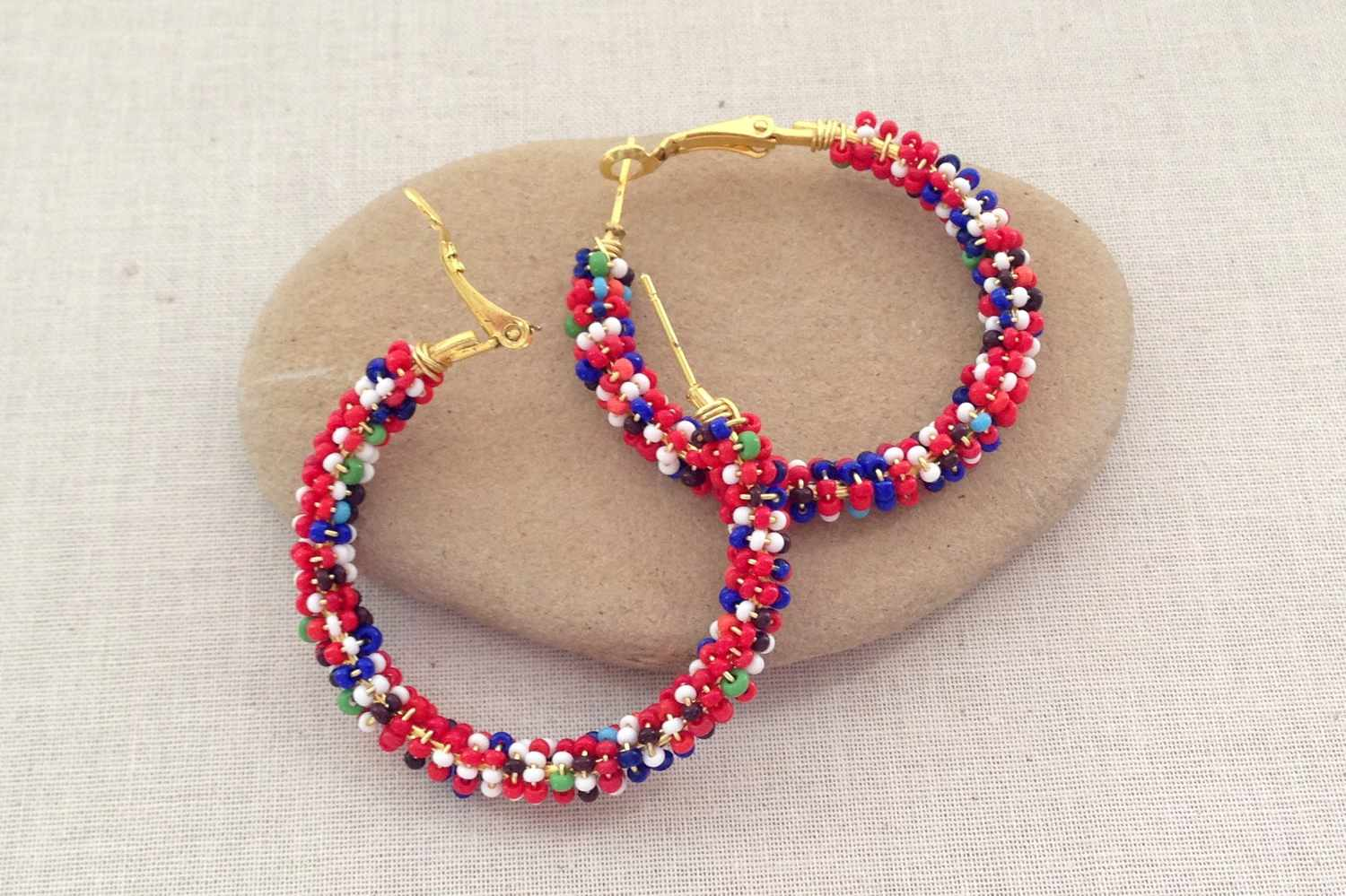 earrings jewellery handmade earring indigenous craft in ecuador beaded