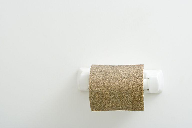 Sandpaper Toilet Paper