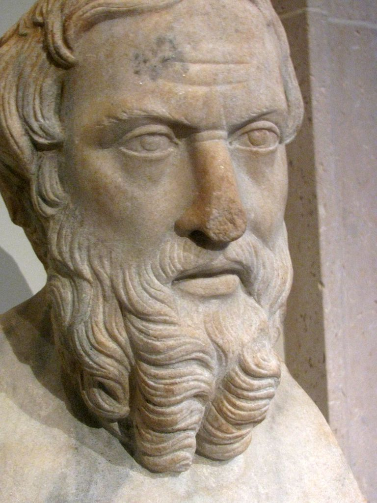 Herodotus at the Metropolitan Museum of Art in NYC.