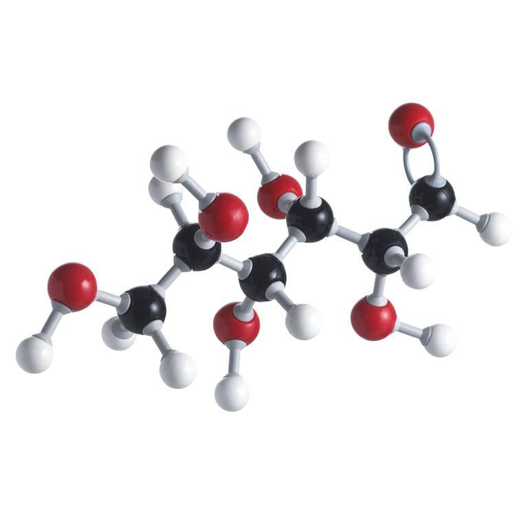 Glucose sugar molecule