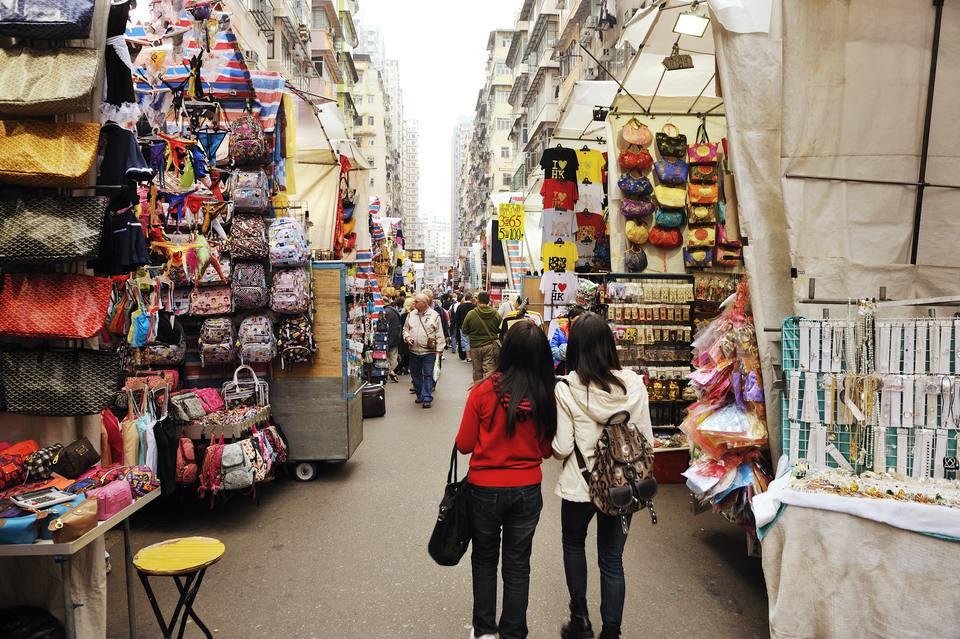 Ladies Market on Tung Choi Street.
