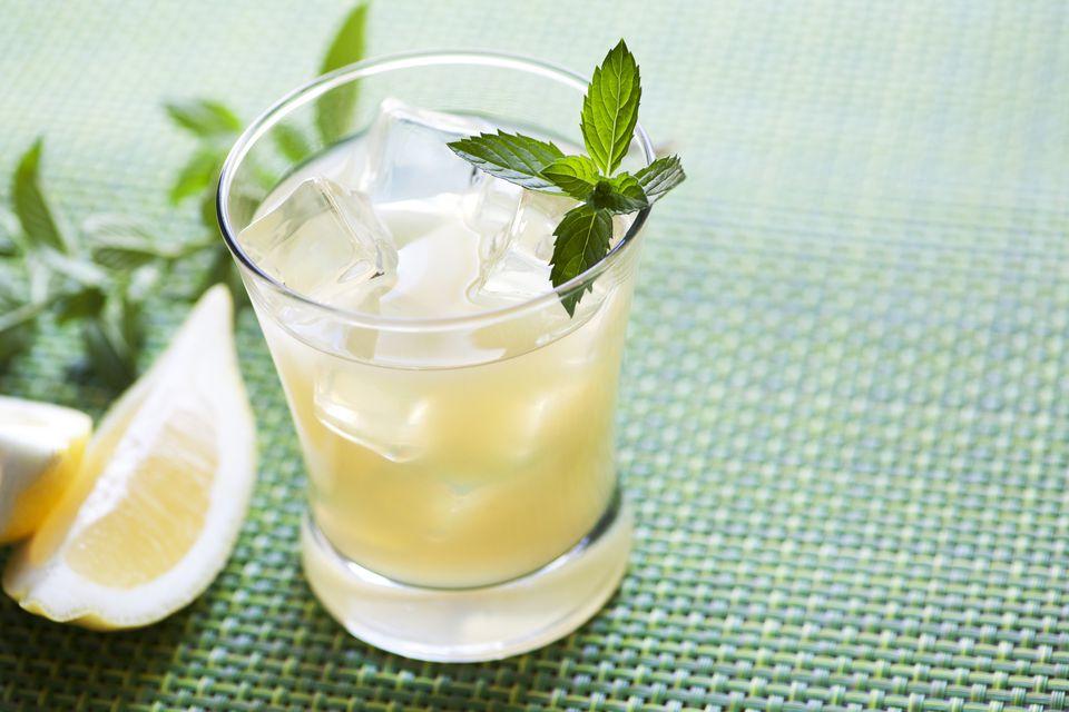 Gunpowder Gimlet Cocktail