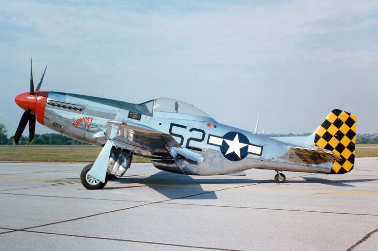 North American P 51 Mustang Fighter
