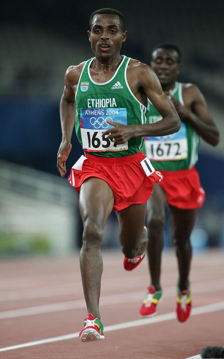 Kenenisa Bekele has held the men's 5000-meter world record since 2004.
