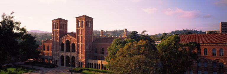 Royce Hall at the campus of University of ...