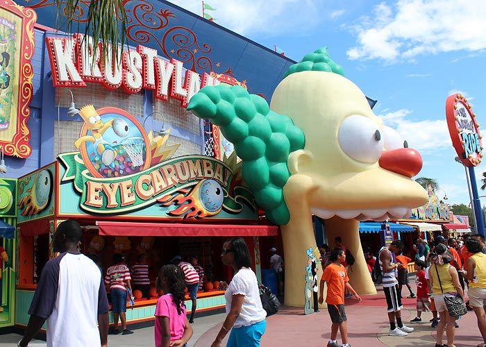 Krustyland at Universal Studios Florida.