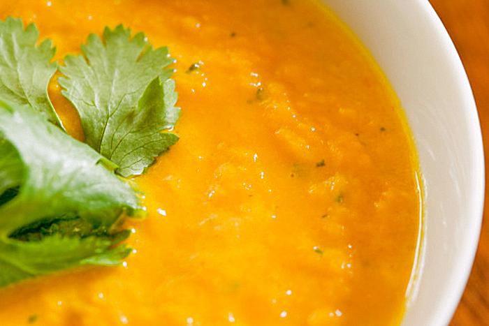 sopa zanahorias