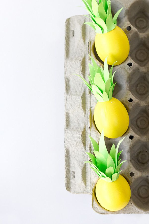 DIY Pineapple Eggs