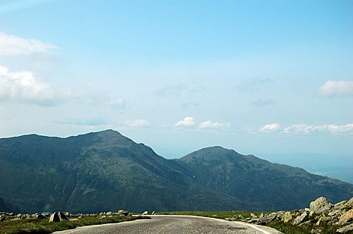 Mt Washington Auto Road - Road to the Sky