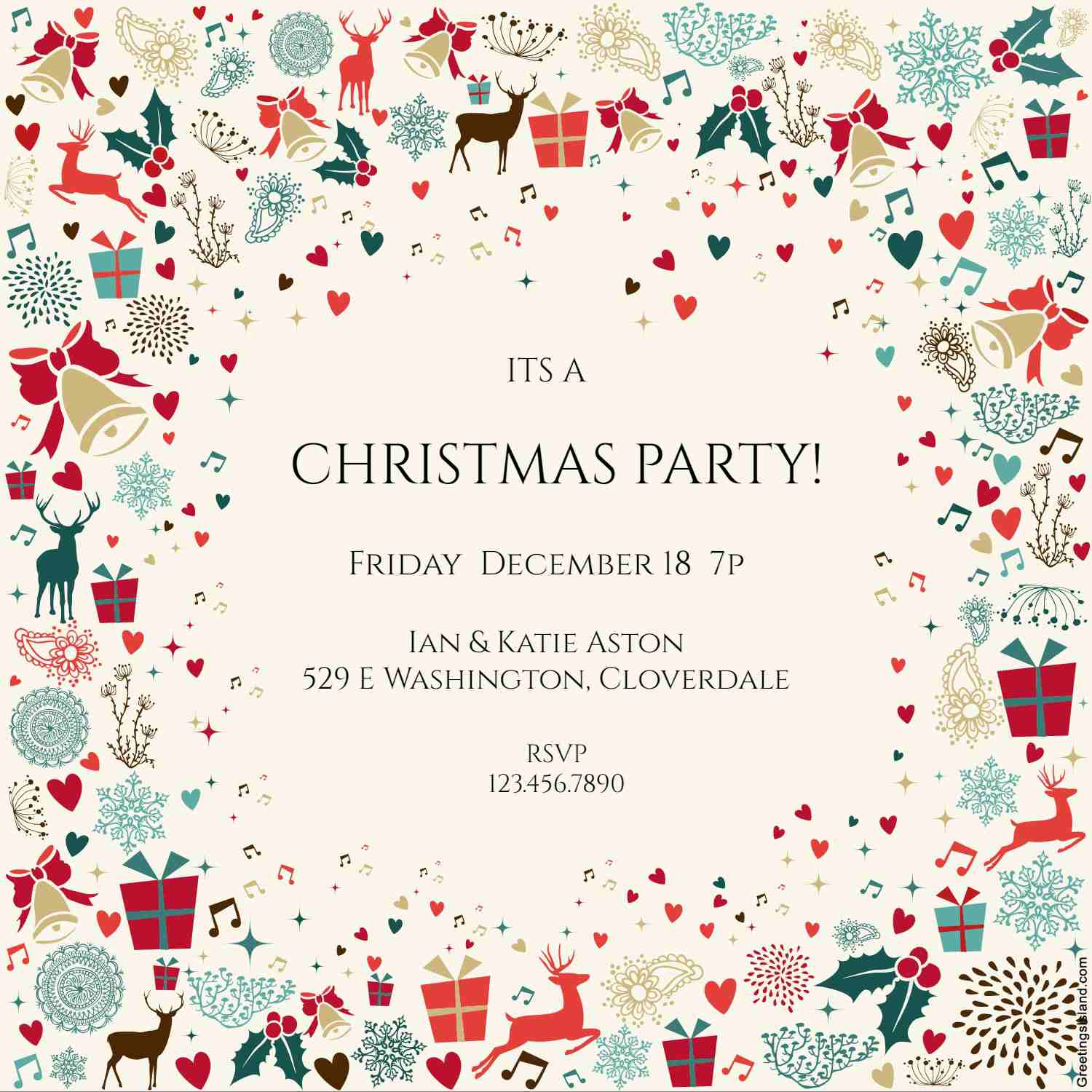 15 free christmas party invitations that you can print kristyandbryce Gallery
