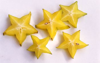 Indulge In A Spot On Star Fruit In Mango Orange Sauce Dessert Recipe