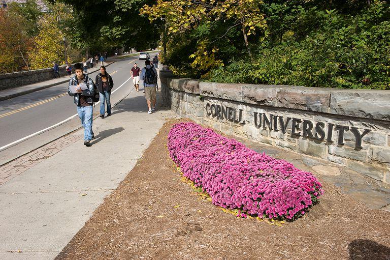 Cornell University campus, Ithaca, New York.
