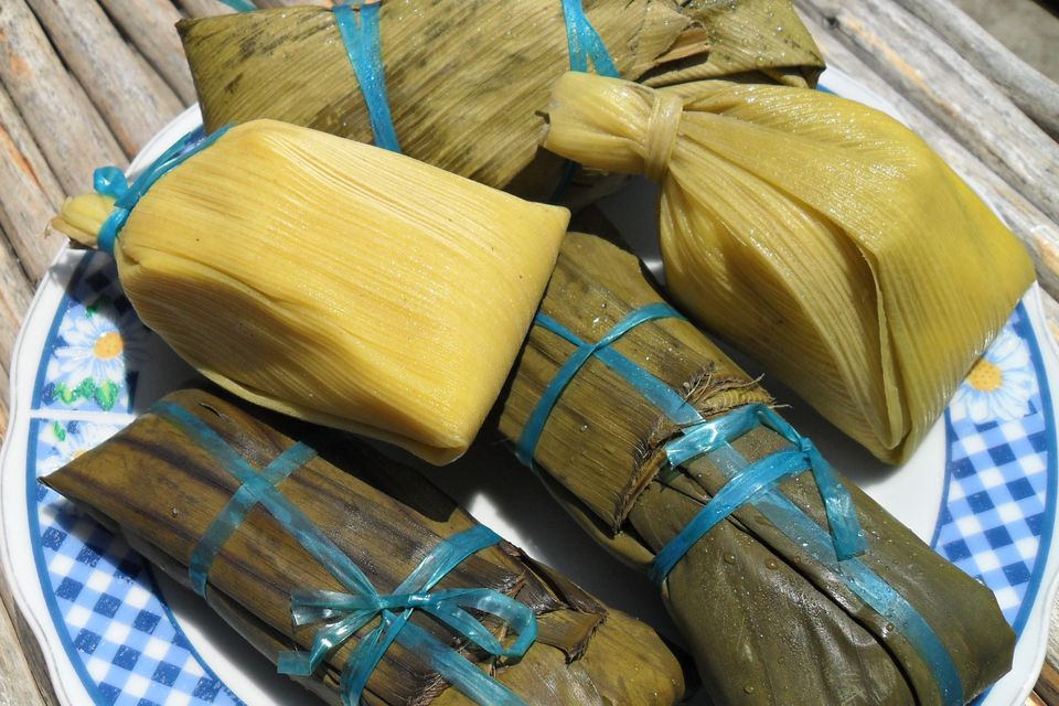 Juane, tamales and humitas