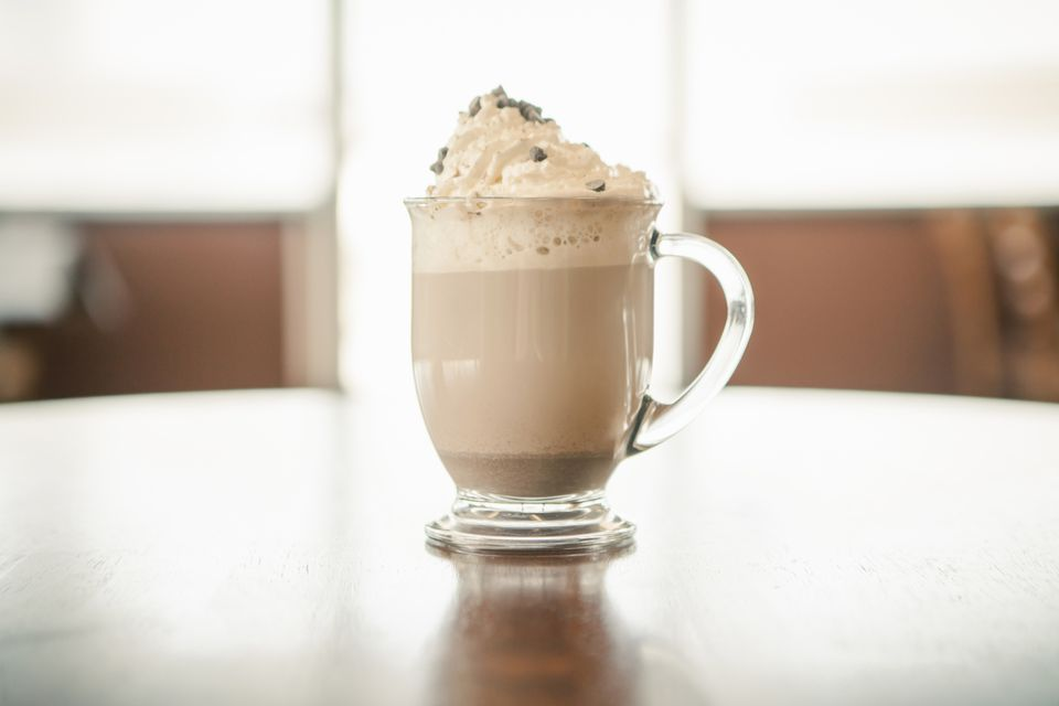 Midnight Snowstorm - Spiked Hot Chocolate Cocktail Recipe