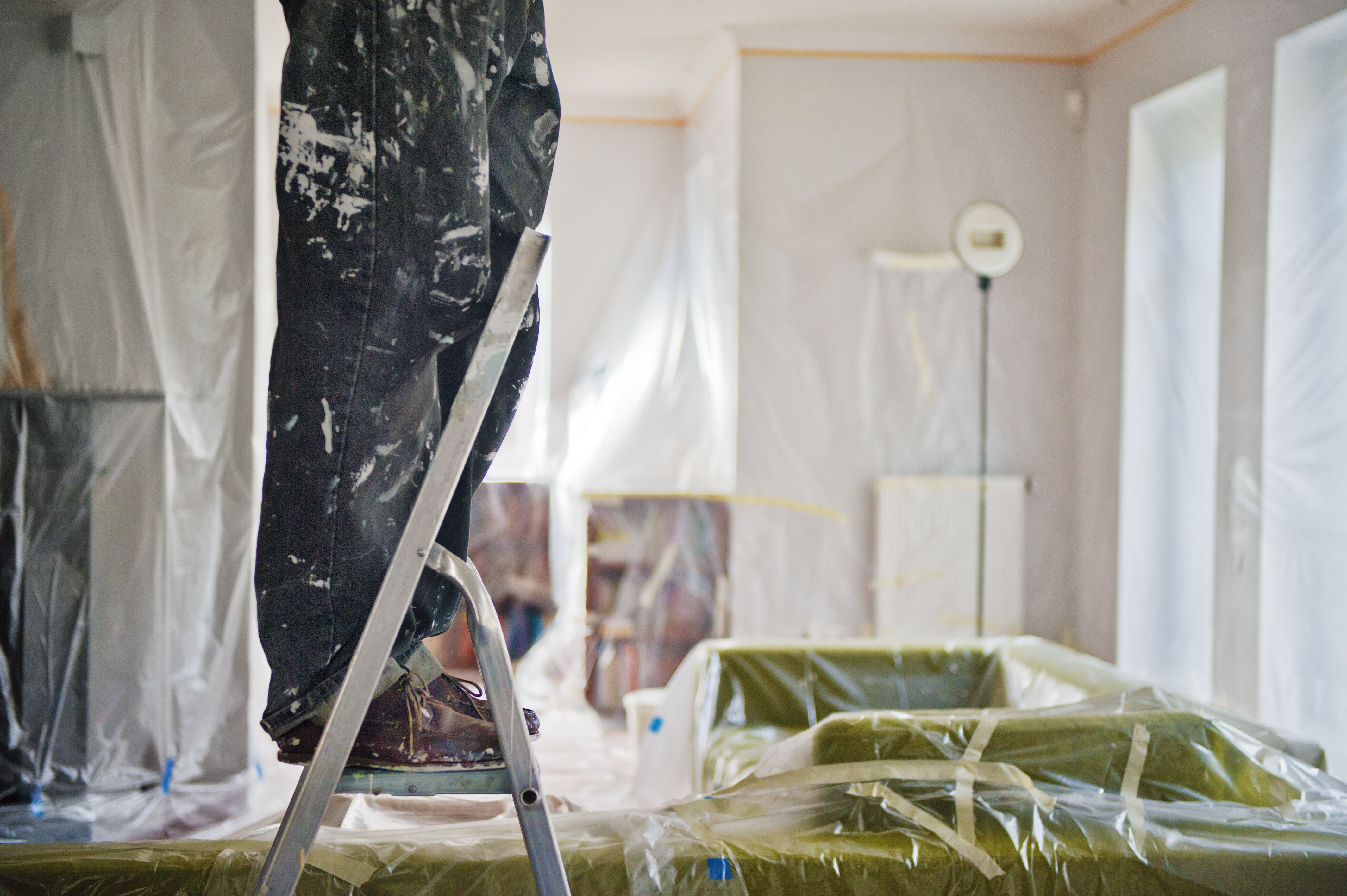Painters Masking Film  Combines Taping and Tarping In One Step. Paint Edgers  The Best to Buy  and Which to Avoid