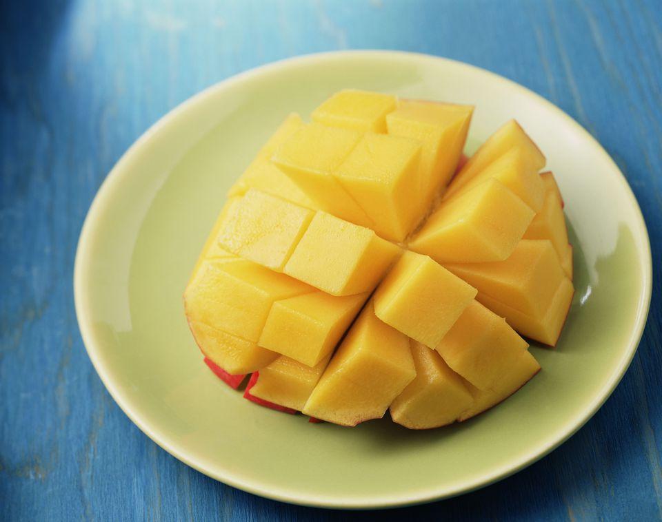 Mango cutting and cubing instructions cut mango ccuart Choice Image