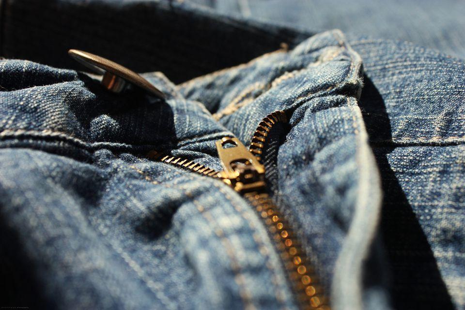 Jean zipper