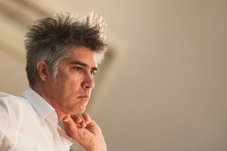 Architect Alejandro Aravena, a white man with spikey hair